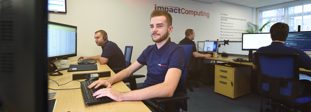 IT Support Header Image