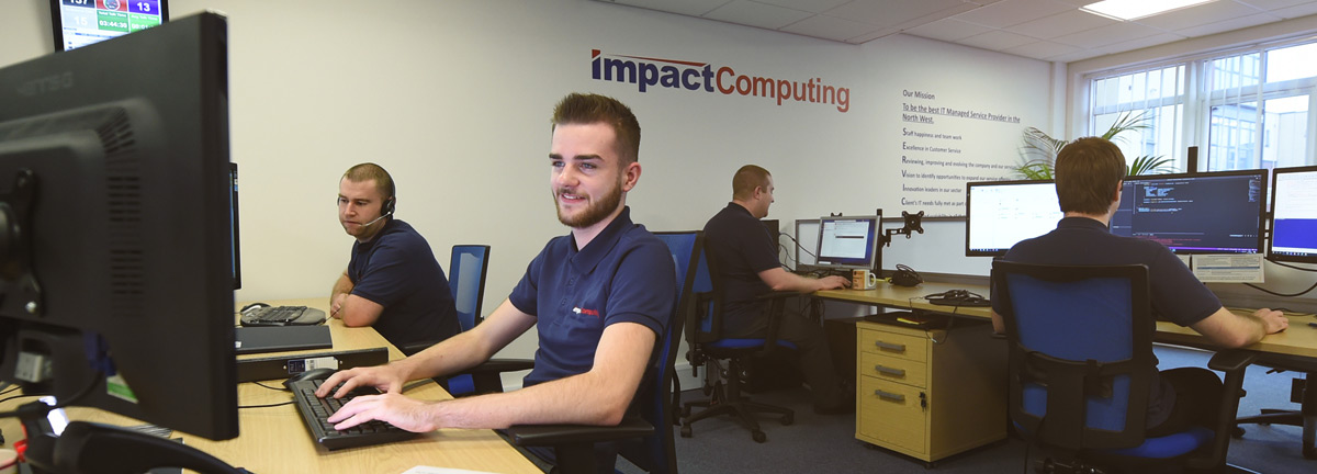 Why Choose Impact Computing? Header Image